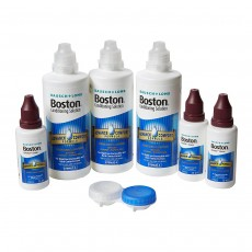 Bausch & Lomb Boston Advance Formula Multi Pack Conditioning and Cleaning Contact Lens Solution (3X120ml & 3X30ml)