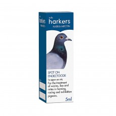 Harkers Harka-Mectin Spot On Endectocide Treatment For Pigeons - 5ml