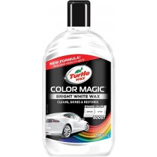 Turtle Wax Color Magic Bright White Wax - Polyurethane Enriched - 500ml