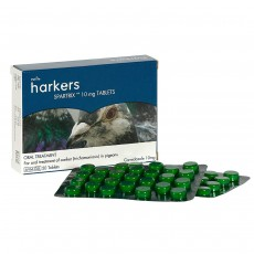 Harkers Spartrix Petlife Canker Treatment for Pigeon - 50 Tablets