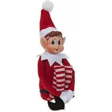 Elves Behaving Badly Elf Doll with Vinyl Face and Soft Body & Long Legs 12""