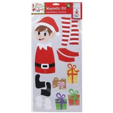 Elves Behaving Badly Magnetic Elf Set - Naughty Elf Playsets - 17pc