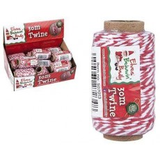 Elves Behaving Badly Twine Gift Wrapping - Christmas Decoration - 30m