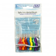 TePe Oral Health Care Interdental Brush Mixed Pack - 8 Brushes