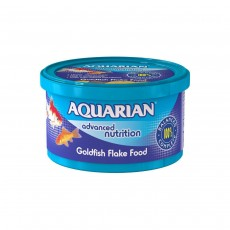 Aquarian Complete Nutrition, Aquarium Goldfish Food Flakes - 25g