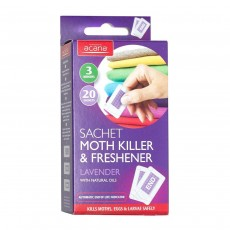 Acana Moth Killer And Freshener Sachets Pack of 20