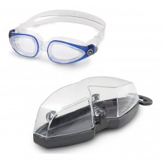 Aqua Sphere 'Eagle' (Dioptic) Swimming Goggles - Blue with Clear lens