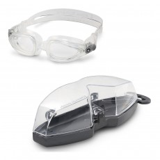 Aqua Sphere 'Eagle' (Dioptic) Swimming Goggles - Transparent with Clear lens
