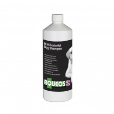 Aqueos Anti-Bacterial Dog Shampoo 1 Litre