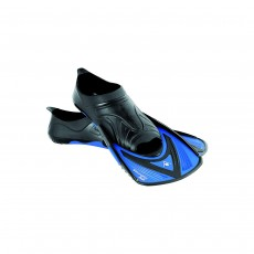 Aqua Sphere MicroFin HP Fins - Black/Blue, 36/37