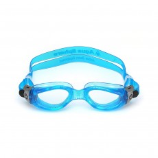 Aqua Sphere Kaiman SMALL - Light Blue with Clear Lens