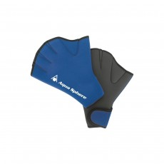 Aqua Sphere Fitness Swim Gloves - Blue, Large