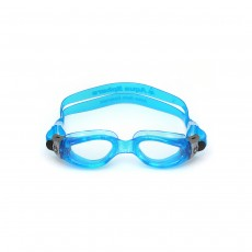 Aqua Sphere Kaiman Compact Swimming Goggles Small Fit - Light Blue/ Light Blue/ Lenses Clear