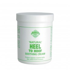 Barrier Naturals Heel to Hoof Soothing Cream, Clear, 250 ml