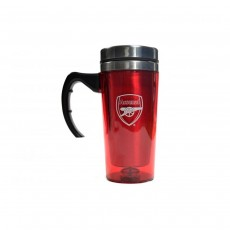 Arsenal FC Football Travel Mug With Handle - 450ml