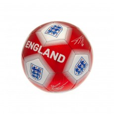 England FA Soccer Ball Signature - Red/White, Size 5