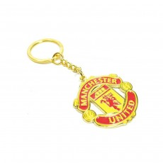Manchester United FC Official Metal Keyring