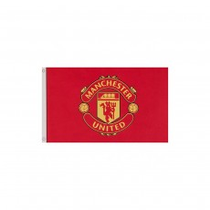 Manchester United FC Official Football Club Core Crest Flag Banner 5ft X 3ft
