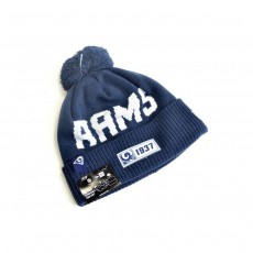 New Era Los Angeles Rams Official NFL Knitted Bobble Hat