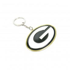 Green Bay Packers NFL Official Metal Crest Keyring