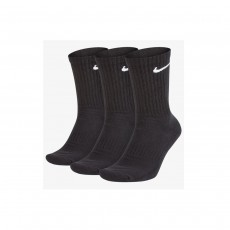 Nike Everyday Cushion Socks - Black, Large (3 Pair)