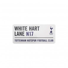 Tottenham Hotspur FC Official Football Metal Street Sign