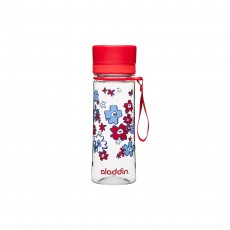 Aladdin Aveo Water Bottle, Red Print - 350ml