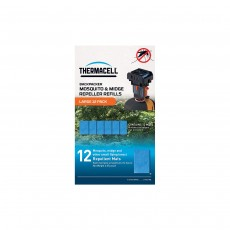 Thermacell Large Mosquito Repellent Mats (Pack of 12)