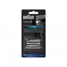 Braun Electric Shaver Replacement Foil and Cassette Cartridge 21B Series 2 Black