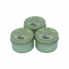 Price's Scented Candle Tin - Chefs - 3 Pack