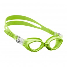 Cressi 'King Crab' Junior Swimming Goggles - Lime