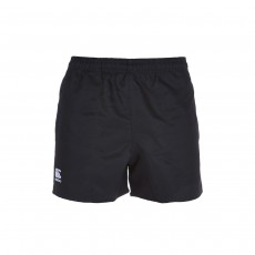 Canterbury Men's Polyester Rugby Shorts - Black, Small