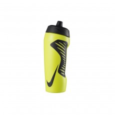 Nike Hyperfuel Squeeze Water Bottle - Lemon/ Black, 24oz
