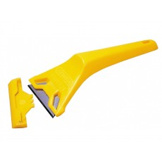 Stanley Tools 593O Window Scraper - Trimming Knife Blade with Plastic Handle