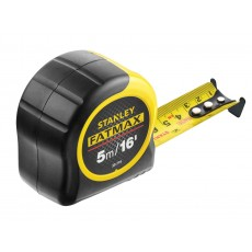 Stanley Tools FatMax® BladeArmor® Tape with Metric & Imperial Grade - 5m / 16ft