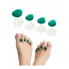 Dip Into Pretty® Pedi Spacers  - Turquoise 'Tears of Joy'