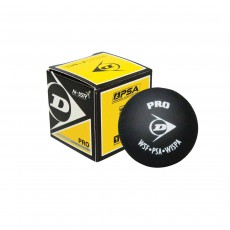 Dunlop 'Pro' Squash Ball, Double Yellow Dot