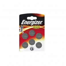 Energizer 3 Volt Lithium CR2032 Batteries - Pack of 6