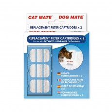 Cat Mate Replacement Filter Cartriges - 2 Pack