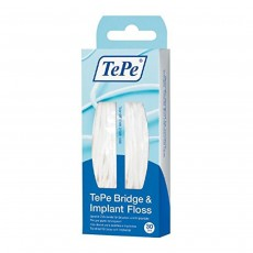 Tepe Bridge and Implant Floss (30 Pieces)