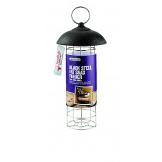 Gardman Black Steel Fat Snax Feeder