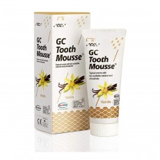GC Tooth Mousse Topical Creme With Bio Available Calcium & Phosphate Vanilla 40g