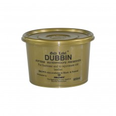 Gold Label Dubbin Leather Cream - Brown 500g