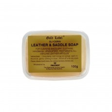 Gold Label Glycerin Leather & Saddle Soap - 100g