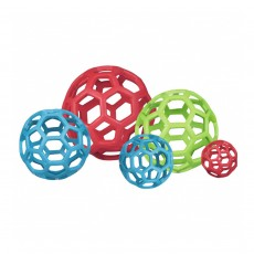 Hol-ee Roller Durable Rubber Dog Toy Size 8