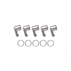 GoPro AWFKY-001 Attachment Rings and Keys - Pack of 5