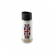 Klean Kanteen 12oz (354ml) Vacuum Insulated Wide-Mouth Canteen - LIMITED EDITION - Union Jack