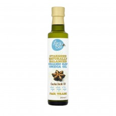Lucy Bee Starseed Organic Raw Sacha Inchi Omega 3 Oil - 250 ml