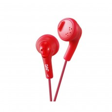 JVC Gumy Headphones - Red