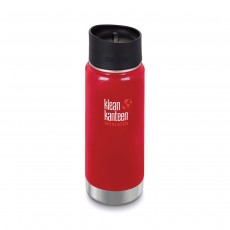 Klean Kanteen 16oz (473ml) Vacuum Insulated Wide-Mouth Canteen - Mineral Red